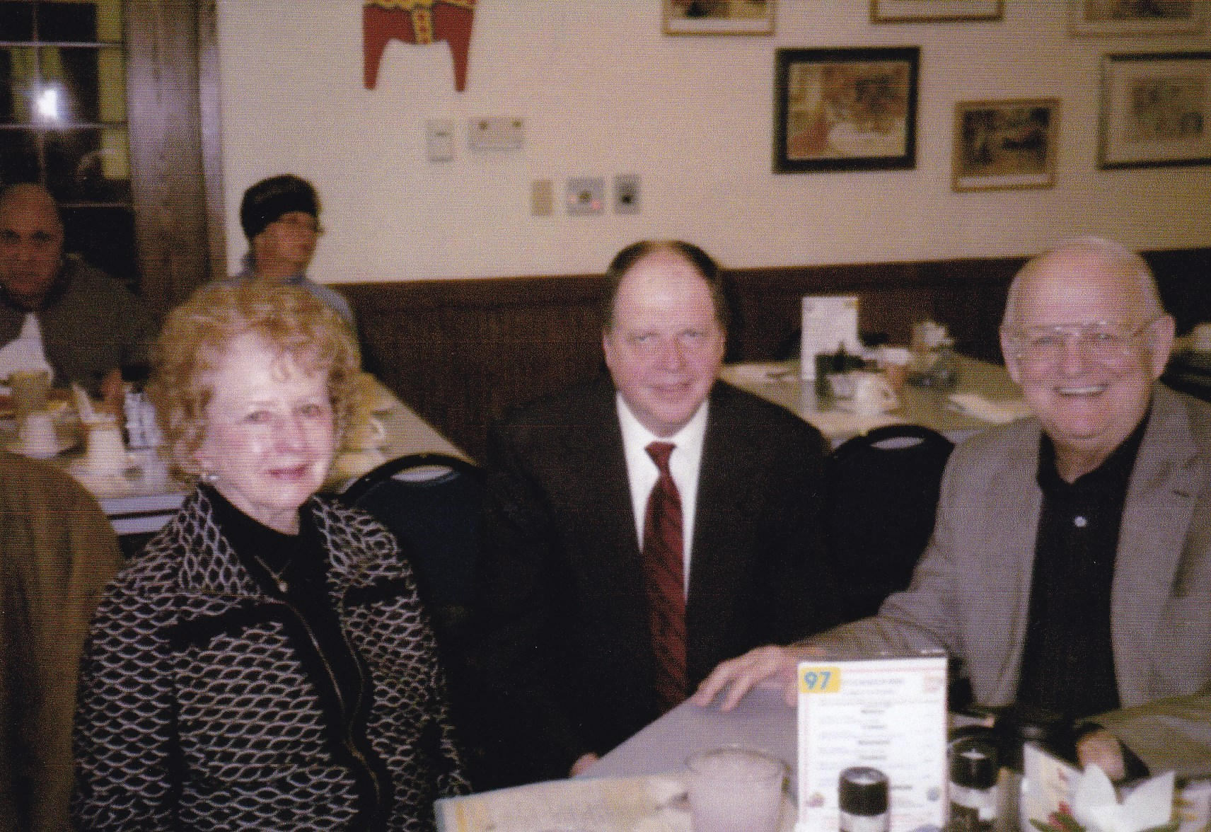 """John """"Radio"""" Russell, Singer Narcy and Shirley"""